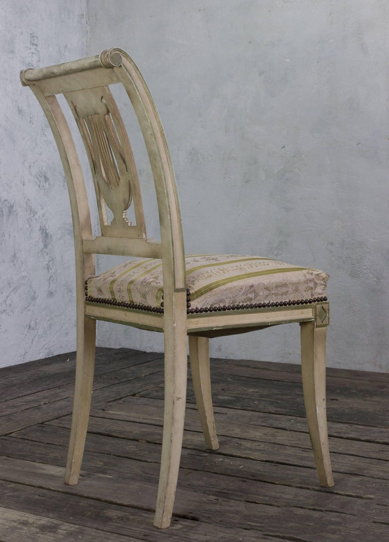 Set of Four French Dining Room Chairs 10