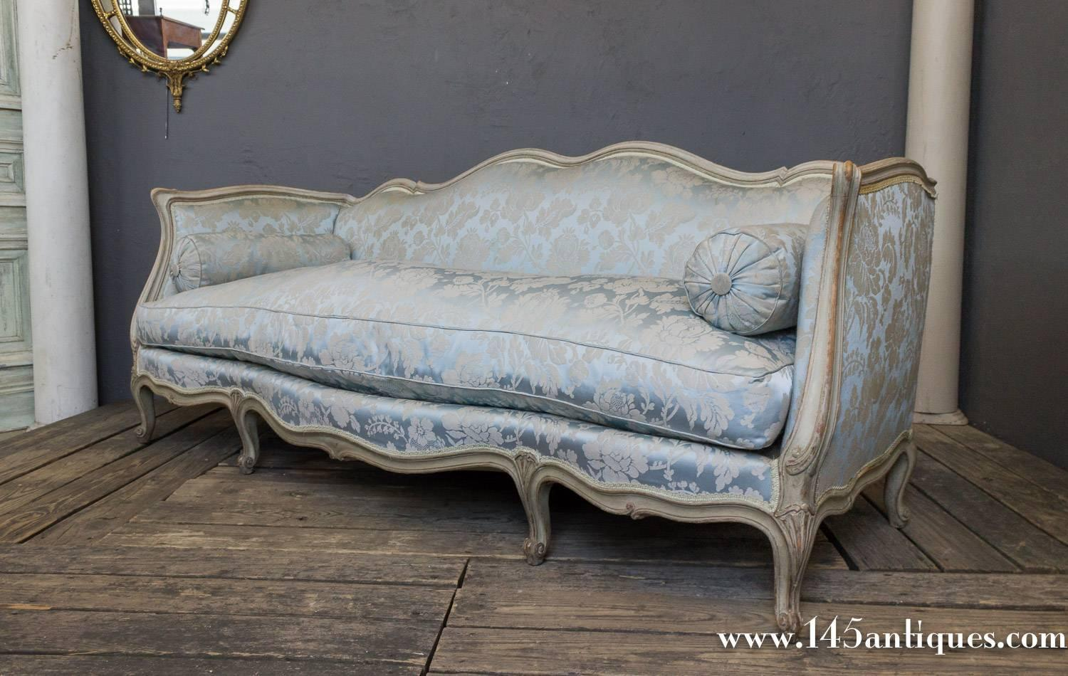 French Louis Xv Style Sofa For Sale At 1stdibs
