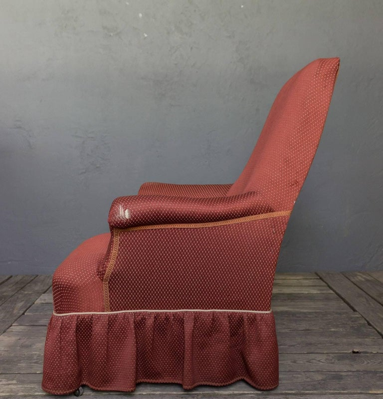 French Napoleon III Armchair For Sale