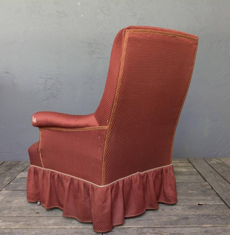 Napoleon III Armchair In Good Condition For Sale In Long Island City, NY