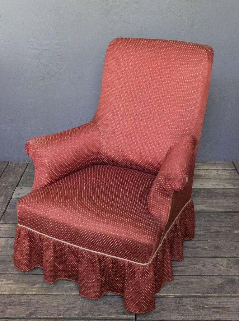 Napoleon III Armchair For Sale 3
