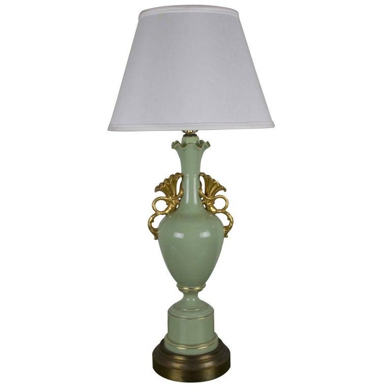 Art Nouveau Style Table Lamp For Sale