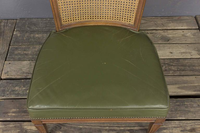 Pair of Italian Mid-Century Modern Side Chairs For Sale 6
