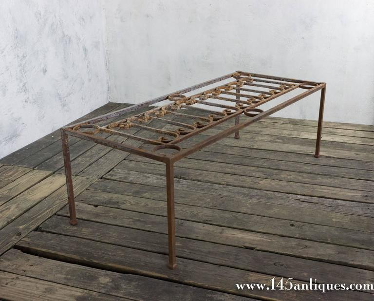 Iron Coffee Table Base For Sale At 1stdibs