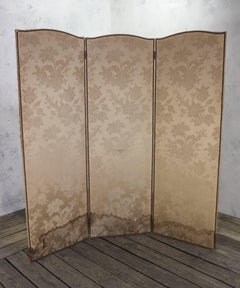 French Three-Paneled Screen
