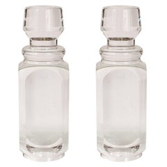 """Pair of """"Stoppered Bottle"""" Sculptures"""