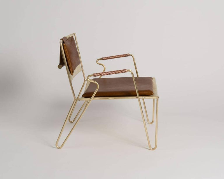 American Thad Hayes, Contemporary Lounge Chair, United States, 2017 For Sale