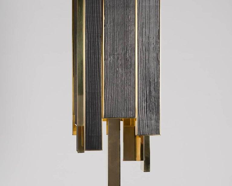 French Franck Chartrain, Phoenix, Floor Lamp, France For Sale