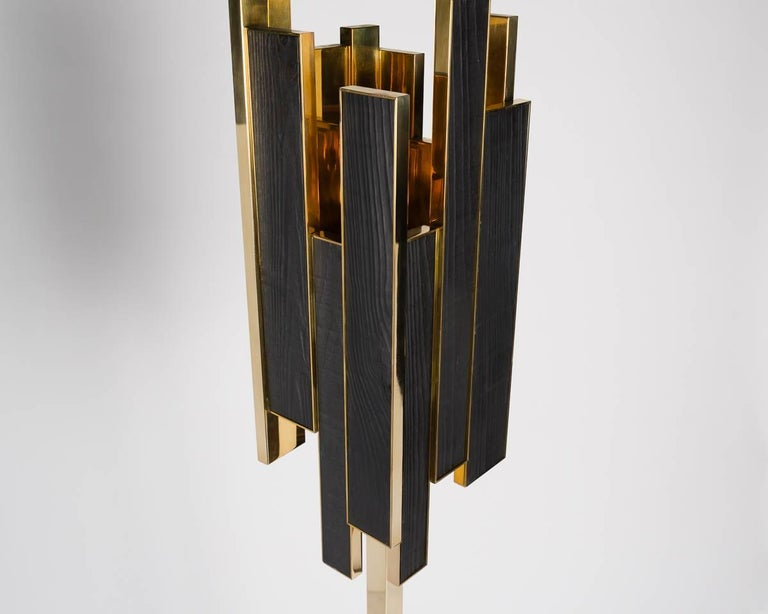 Franck Chartrain, Phoenix, Floor Lamp, France In Excellent Condition For Sale In New York, NY