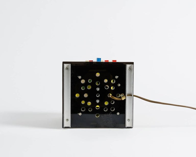 Gérard Haas, Timescapes LED Chronotope, Light Sculpture, France, circa 1970s For Sale 1