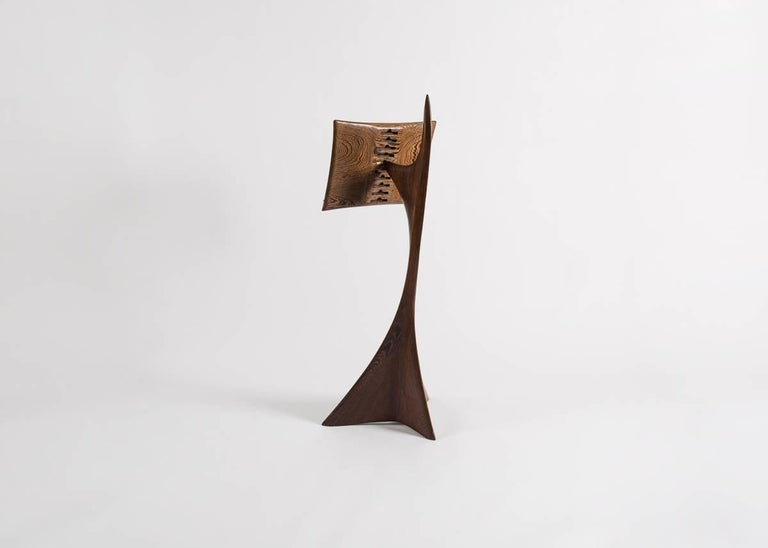 Michael Coffey, Carved Music Stand, United States, 1987 In Excellent Condition For Sale In New York, NY