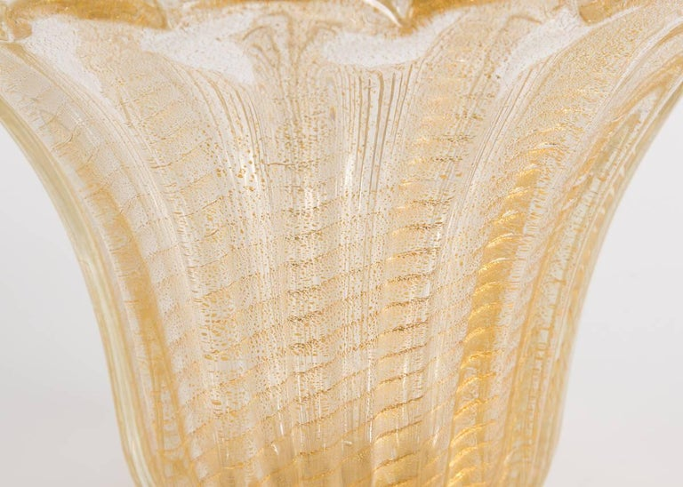 Italian Venetian Vase, Italy, C. 1950 For Sale