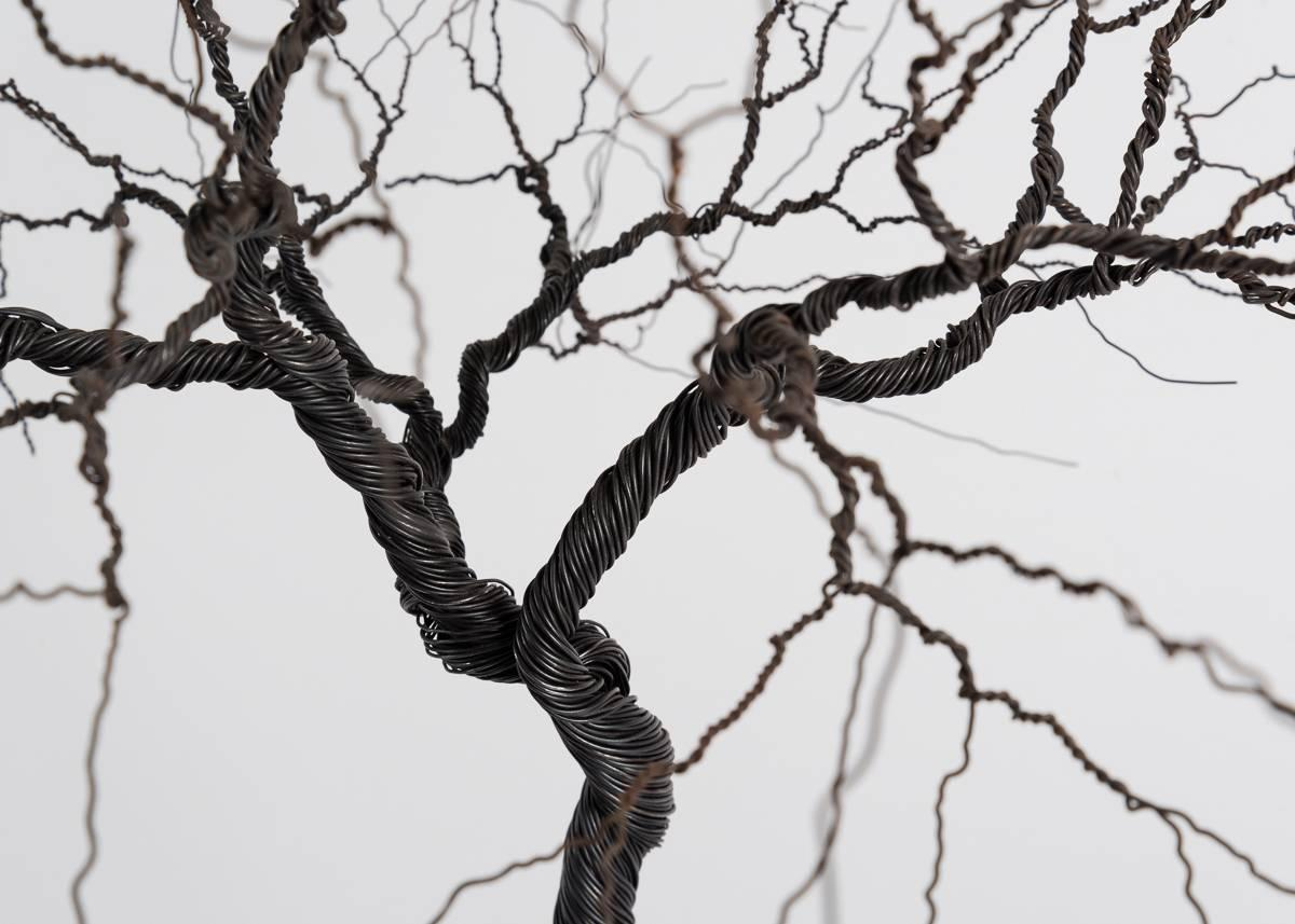 Pablo Avilla, Large Wire Tree Sculpture, Chile, 2012 For Sale at 1stdibs