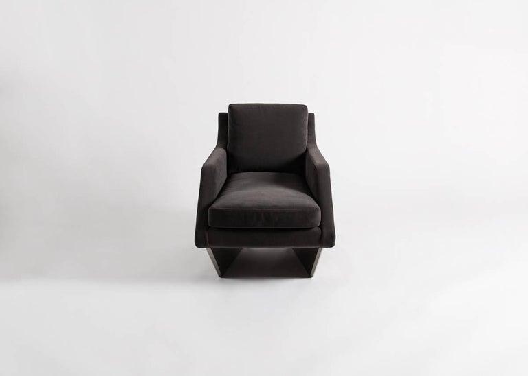 Contemporary Georgis & Mirgorodsky, 'Whalebone,' Armchair, USA, 2014 For Sale