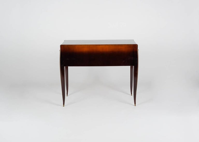 Mid-20th Century Alfred Porteneuve, Art Deco Writing Table and Chair, France, circa 1935 For Sale