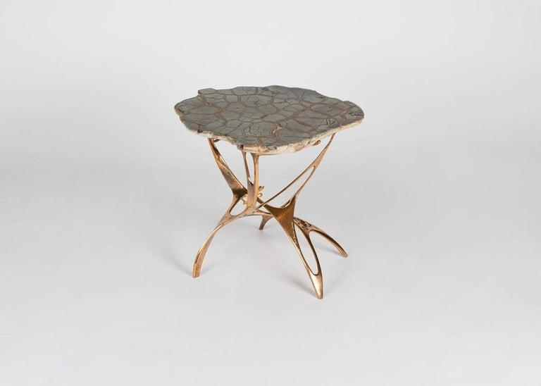 Septarian side table by British designer Mark Brazier-Jones.
