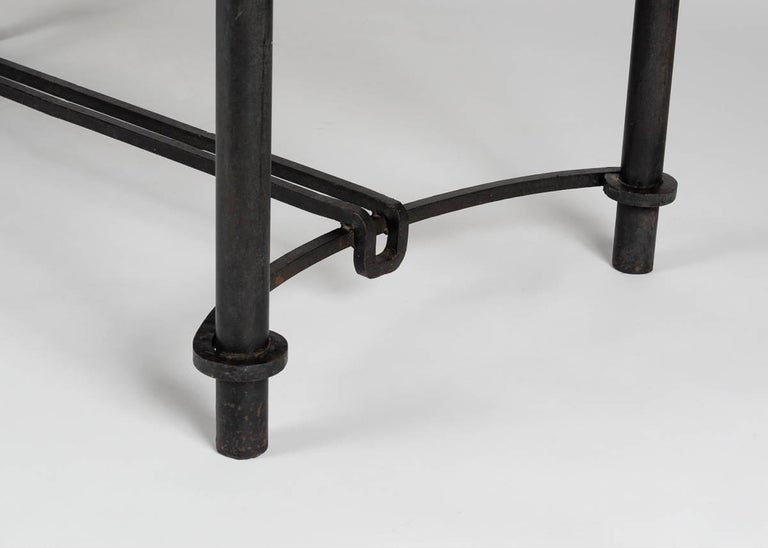 Jacques Adnet for Compagnie Des Arts Francais, Coffee Table, France, circa 1958 In Good Condition For Sale In New York, NY