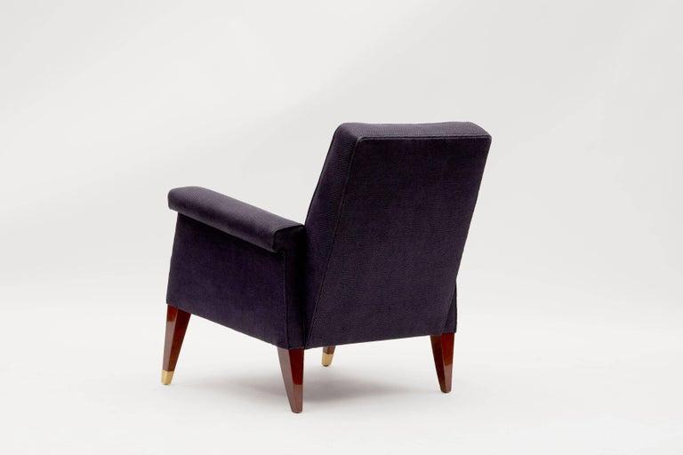 Jules Leleu, Rare Armchair, France, C. 1958 1