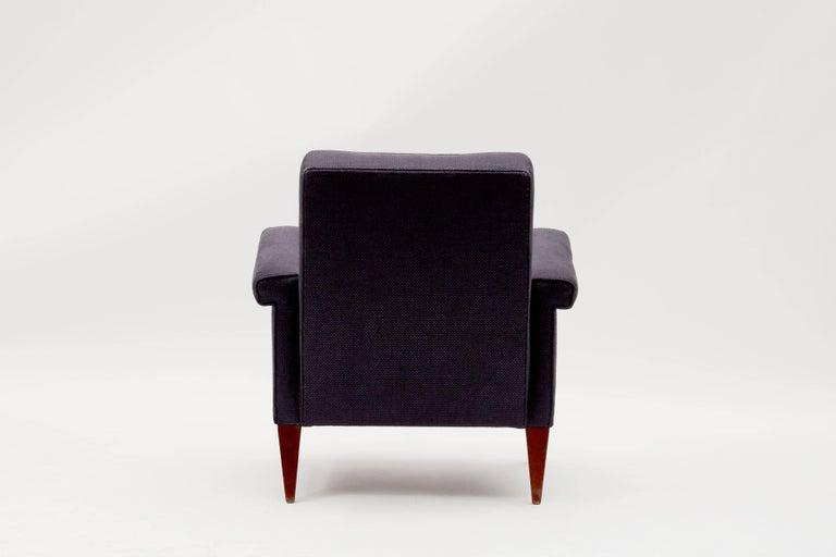 Jules Leleu, Rare Armchair, France, C. 1958 2
