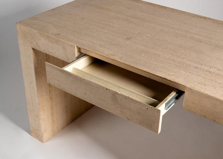 Minimalist Michael Taylor, Modernist Desk, United States, 1985 For Sale