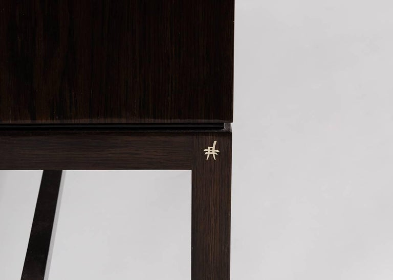 Brass Zelouf + Bell, Glimmer, Three Door Cabinet, Ireland, 2015 For Sale