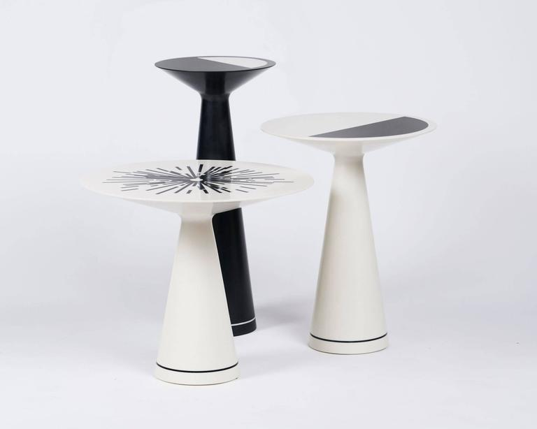 "Sandra Nunnerley, ""Luna Ivory"", Side Table, USA, 2016 3"