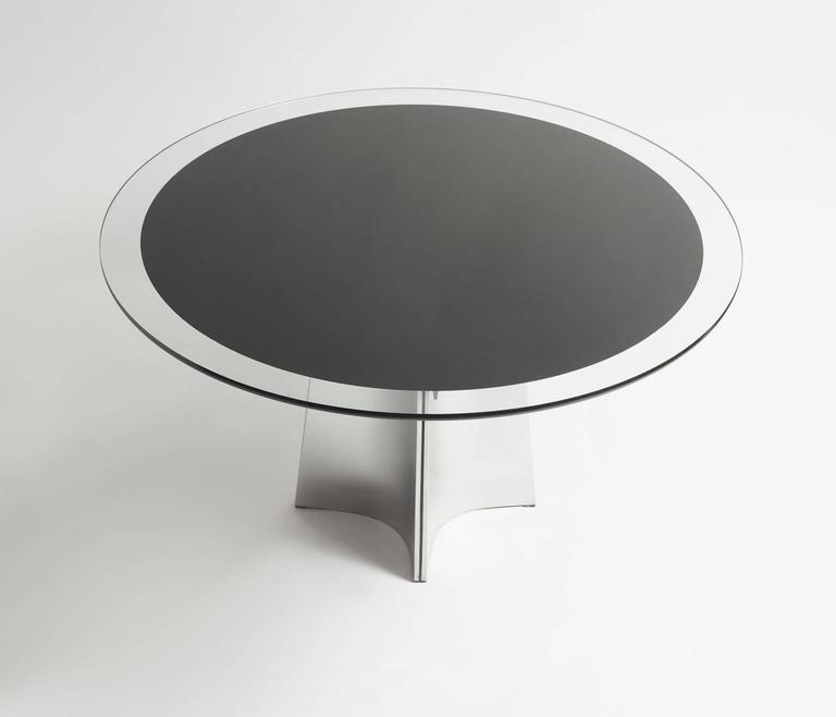 A center table by Louis Saccardo for Maison Jansen.