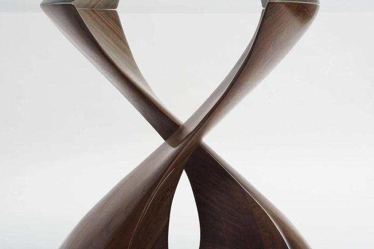 "Carved Michael Coffey, ""Pas de Deux II"" Table, United States, 1990 For Sale"