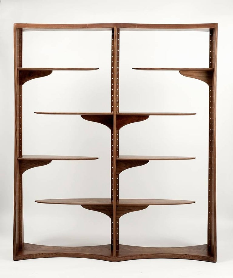 "Michael Coffey, ""Jacob's Ladder"", Shelving Unit, USA, 1973 2"