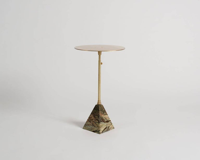 Ben Erickson, an artist living and working in Brooklyn, utilizes 20th century design's most celebrated material and aesthetic combinations in the creation of his own spectacularly unique sculptural furniture. The cocktail tables are constructed of