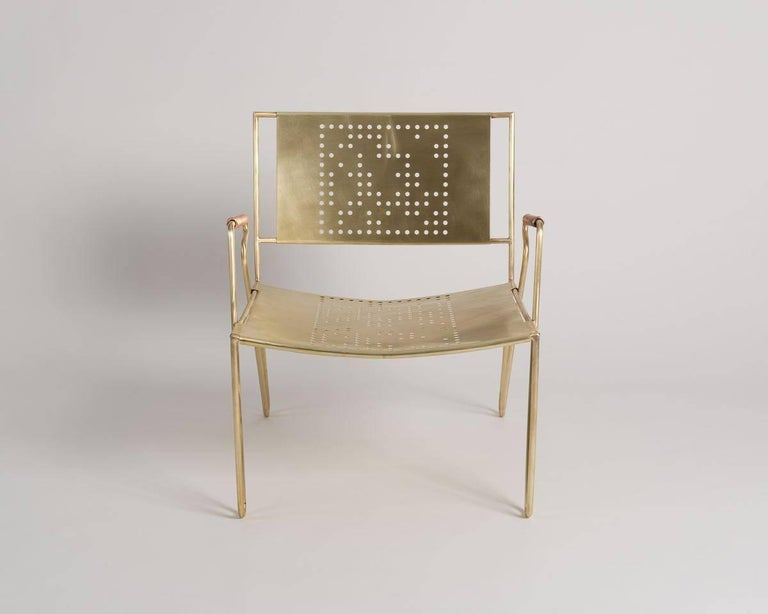 Thad Hayes, Contemporary Lounge Chair, United States, 2017 In Excellent Condition For Sale In New York, NY