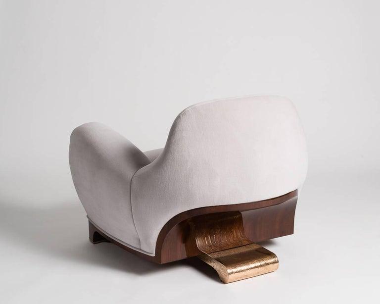 Italian Achille Salvagni, Tato, Contemporary Armchair, Italy, 2016 For Sale