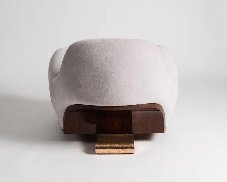 Cast Achille Salvagni, Tato, Contemporary Armchair, Italy, 2016 For Sale