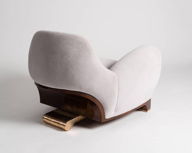 Achille Salvagni, Tato, Contemporary Armchair, Italy, 2016 In Excellent Condition For Sale In New York, NY