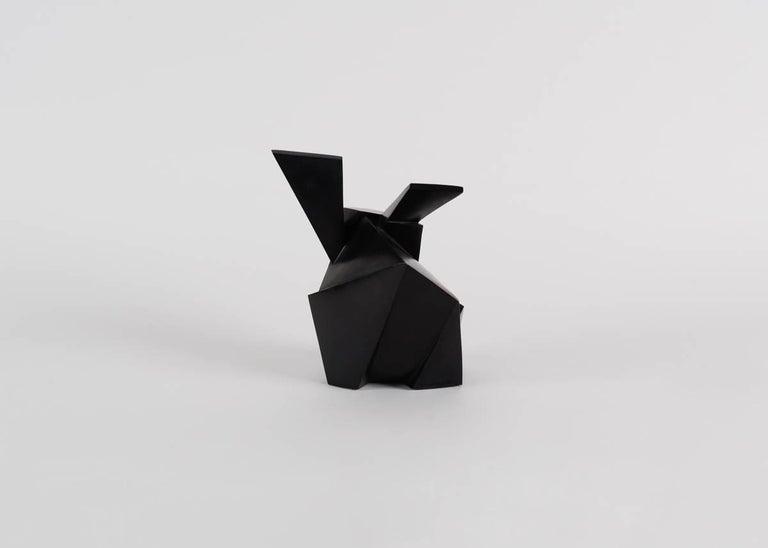 Patinated Jacques Owczarek, Jokio, Sculpture of a Rabbit, France, 2016 For Sale