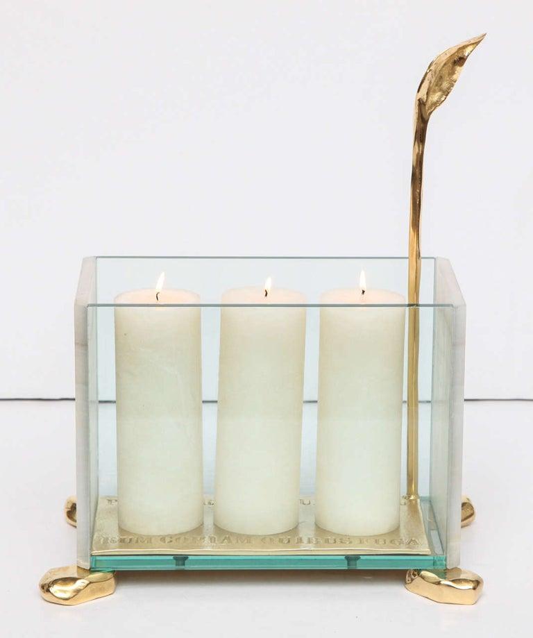 Italian Aldus, Candle Lantern, Italy, 2013 For Sale