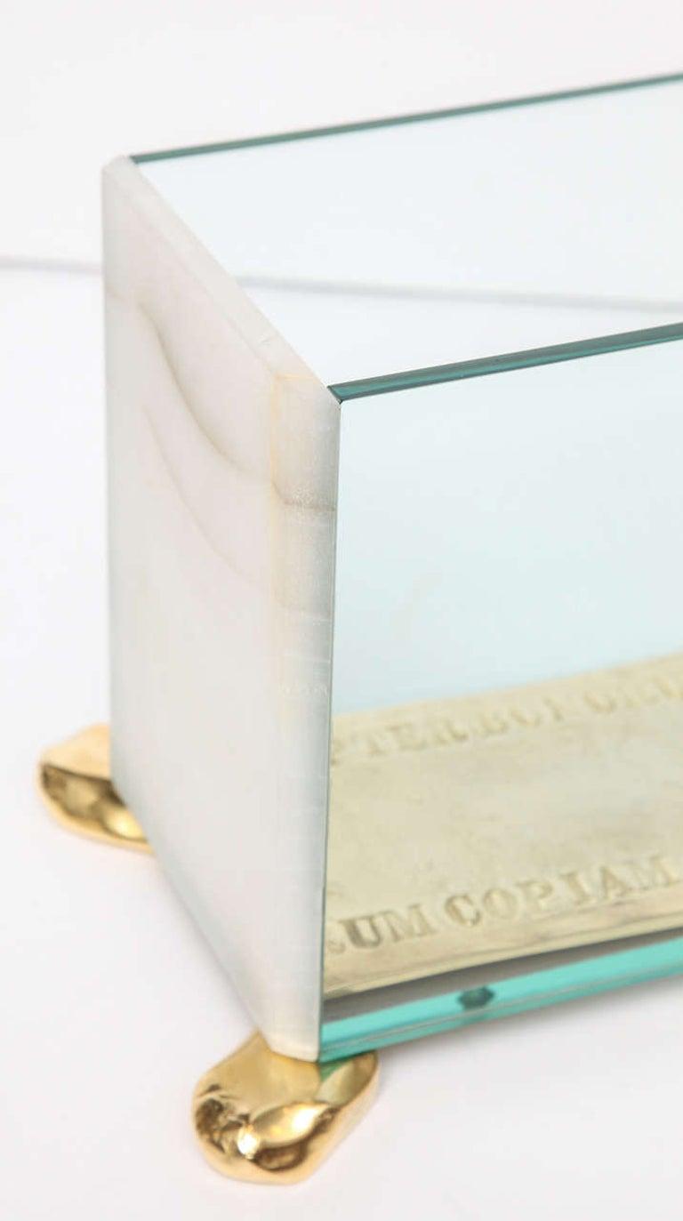 Bronze Aldus, Candle Lantern, Italy, 2013 For Sale