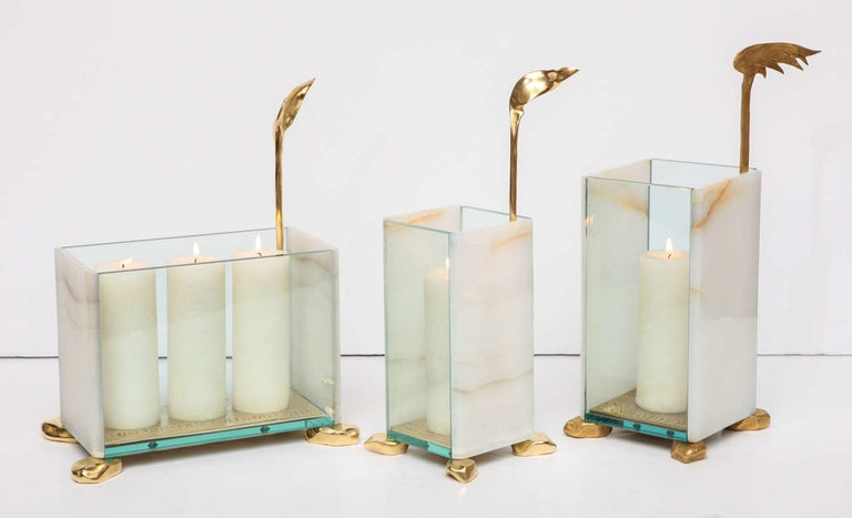 Aldus, Candle Lantern, Italy, 2013 For Sale 2