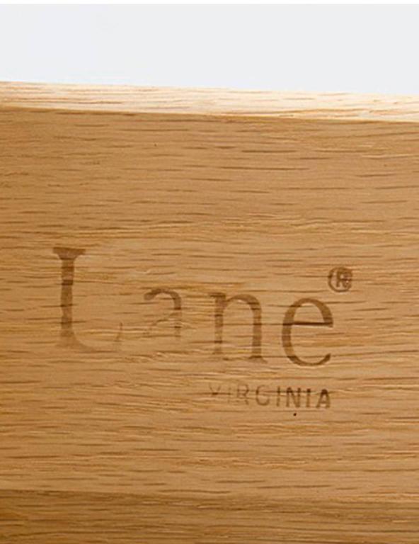 Oak Brutalist Five-Drawer Dresser Designed by Lane Furniture For Sale 1