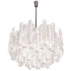 Tiered Glass Chandelier by J.T. Kalmar