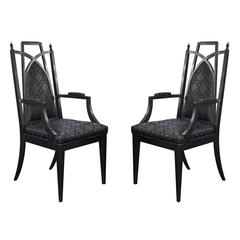 Pair of Chinoiserie Armchairs