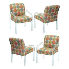 Lucite Dining / Game Chairs by Leon Rosen for Pace Collection