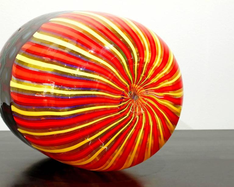 Mid-Century Modern Anzolo Fuga Vase with Glass Fragments, 1958-1968 For Sale