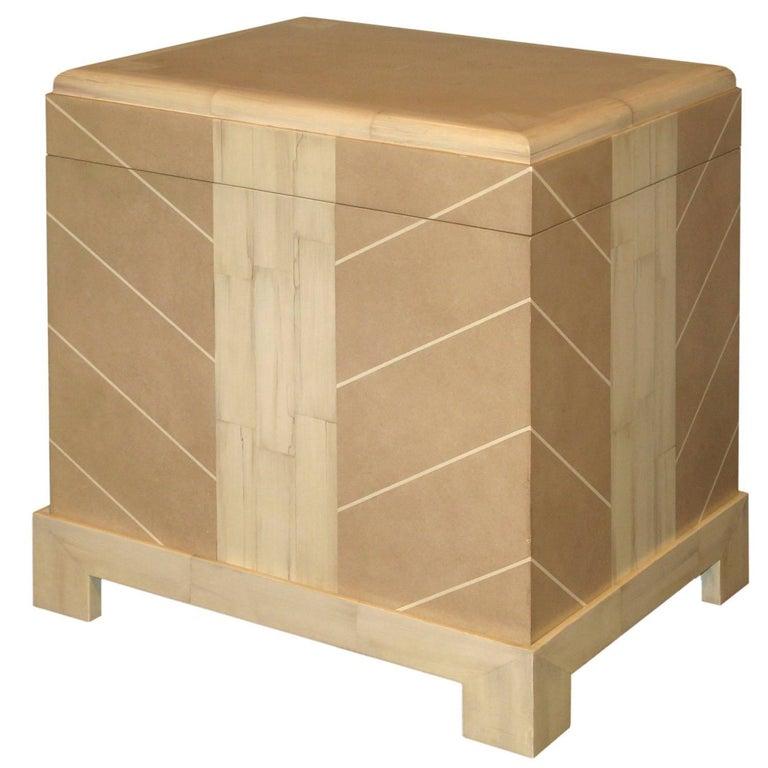 Karl Springer Kyoto Box, 1984 For Sale