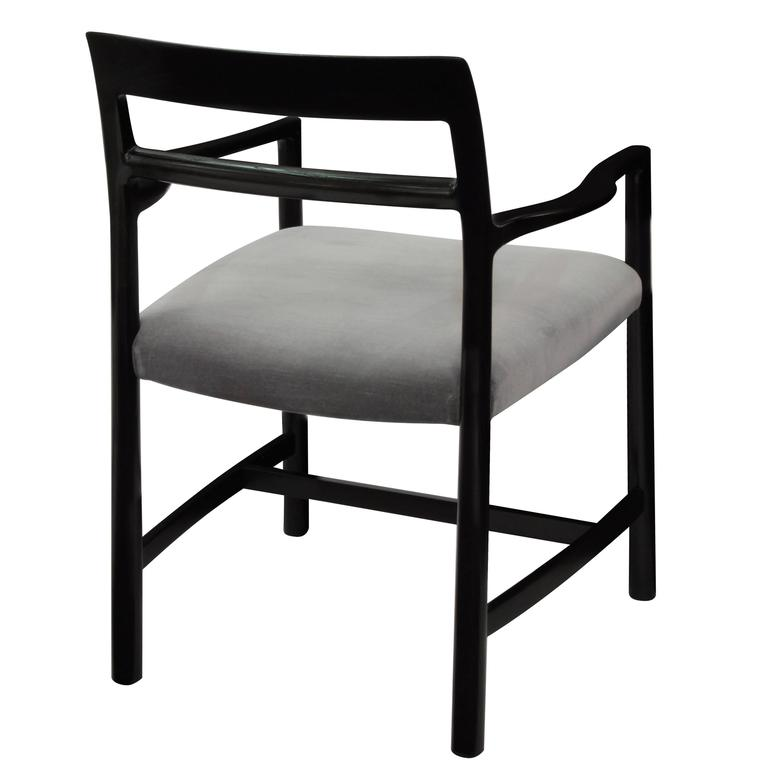 American Modern Roger Sprunger Set of Eight Dining Chairs, 1967 For Sale