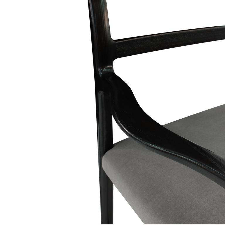 Roger Sprunger Set of Eight Dining Chairs, 1967 In Excellent Condition For Sale In New York, NY