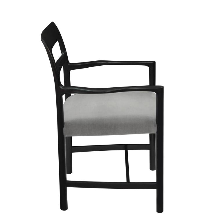 American Roger Sprunger Set of Eight Dining Chairs, 1967 For Sale