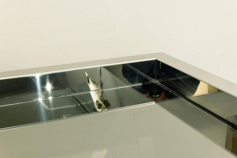 Karl Springer Exceptional Stainless Steel Cabinet 1980s ...