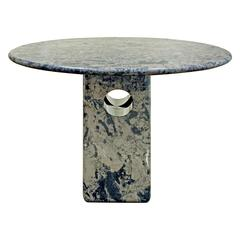 Italian Marble Centre or Dining Table, 1980s