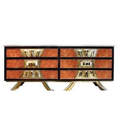 Jacques Duval-Brasseur Rare and Exceptional Chest of Drawers, 1970s